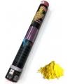 Kleurenpoeder shooter geel 40 cm