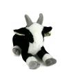 Knuffel geit zwart wit 35 cm