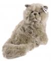 Knuffel perzische kat wit 30 cm