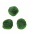 Knutsel pompons 70 stuks 7 mm groen