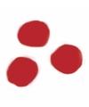 Knutsel pompons 70 stuks 7 mm rood