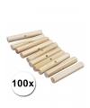 Knutselhoutjes van palmhout 47 mm 100 st