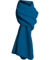 Kobalt blauwe fleece sjaal