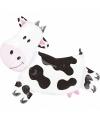Koe dieren folie ballon 90 cm