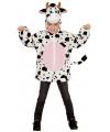 Koeien verkleed vest voor kinderen