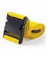 Kofferriem geel 180 cm
