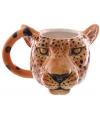 Koffie mok luipaard