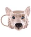 Koffie mok wolf