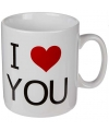 Koffiebeker i love you 380 ml
