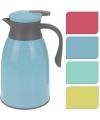 Koffiekan blauw grijs 1 liter