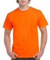 Koningsdag fel oranje shirt voor volwassenen