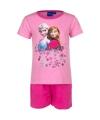 Korte pyjama frozen roze