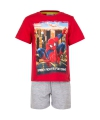 Korte pyjama spiderman rood