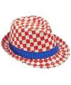 Kroatie trilby hoed