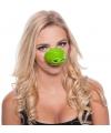 Krokodil dierenneus masker voor volwassenen