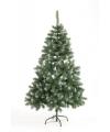 Kunst kerstboom abies 180 cm white tops