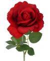 Kunst roos carol rood 37 cm