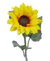 Kunst zonnebloem 81 cm