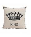 Kussen king 40x40 cm