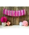 Kwast slinger roze 5 meter