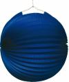 Lampion blauw 22 cm