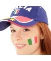 Landen vlag tattoo italie