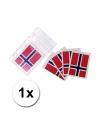 Landen vlag tattoo noorwegen