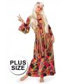 Lange hippie jurk grote maat
