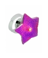 Led ring paarse ster