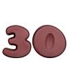 Leeftijd taart bakvormen 30