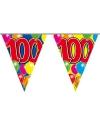 Leeftijd vlaggenlijn 100 jaar