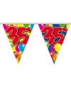 Leeftijd vlaggenlijn 35 jaar