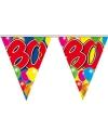 Leeftijd vlaggenlijn 80 jaar