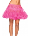 Leg avenue luxe petticoat neon roze