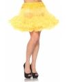 Leg avenue petticoat geel