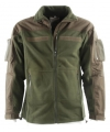 Legergroen combat vest fleece
