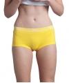 Lemon and soda gele dames boxershorts