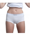 Lemon and soda witte dames boxershorts