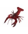 Levensechte rode kreeft 20 cm