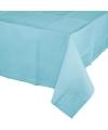 Lichtblauw tafelkleed 274 x 137 cm