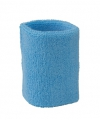 Lichtblauw zweetbandje voor de pols