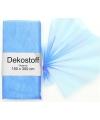 Lichtblauwe organza stof 150 x 300 cm