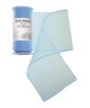 Lichtblauwe organza stof op rol 12 x 300 cm