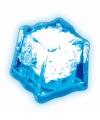 Lichtgevend ijsklontje blauw