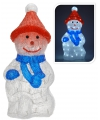 Lichtgevende sneeuwpop 63 cm