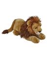 Liggende leeuwen knuffel 50 cm