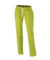 Lime dames joggingbroek vintage