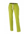 Lime heren joggingbroek vintage