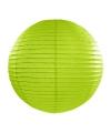 Luxe bol lampion groen 35 cm