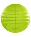 Luxe bol lampion groen 50 cm